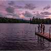 Adirondacks Seventh Lake Evening 2 August 2020