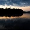 Adirondacks Rollins Pond Sunset 1 July 2021