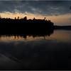 Adirondacks Rollins Pond Sunset 2 July 2021