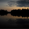 Adirondacks Rollins Pond Sunset 3 July 2021