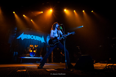 Airbourne Gig at Edmonton Rexall Place 2010