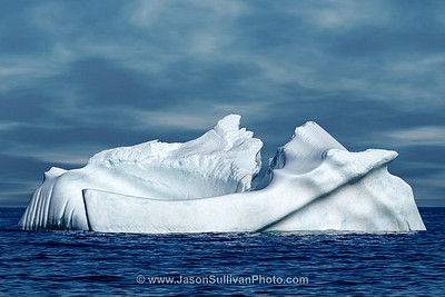 Blue Ice at Sea