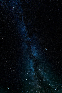 The Milky Way photographed near Vik, Iceland.