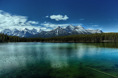 Canadian Rockies In Banff National Park