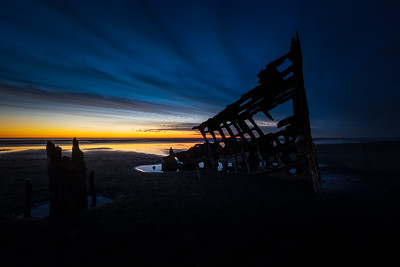 Peter Iredale Shipwreck - Astoria