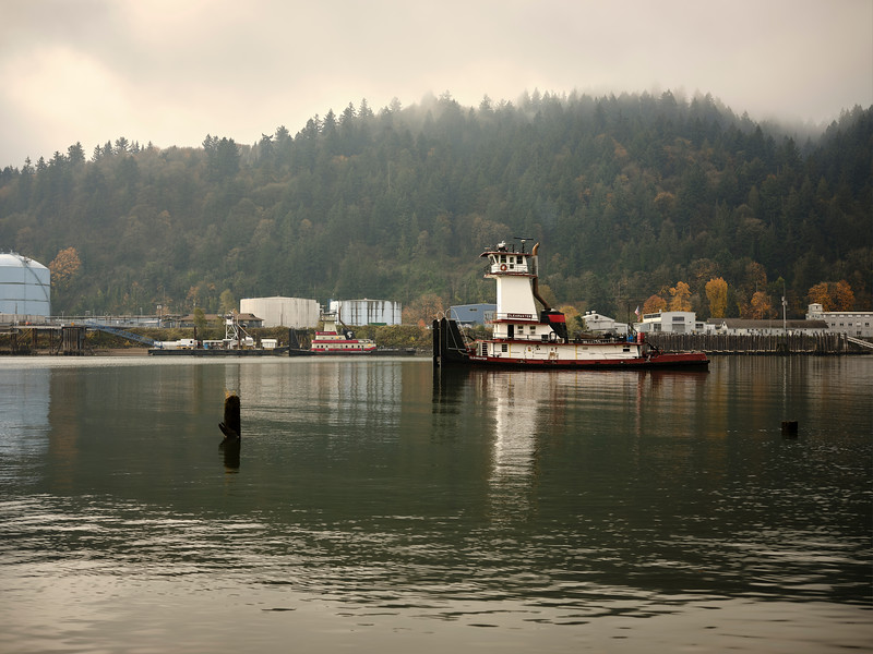Tugboats On The Willamette River - Portland, Oregon