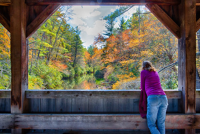 Reflections; Covered Bridge; Dupont State Recreational Forest
