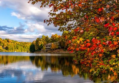 Atagahi Lake; Conastee Falls; Brevard, NC