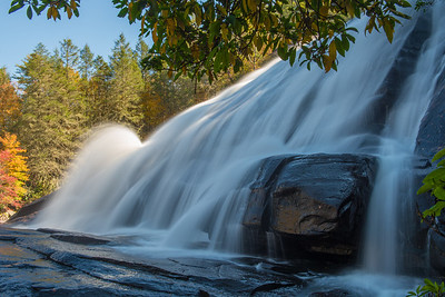 High Falls; Dupont State Recreational Forest