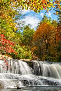 Hooker Falls; Dupont State Forest