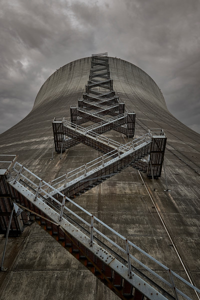 Cooling Tower Staircase