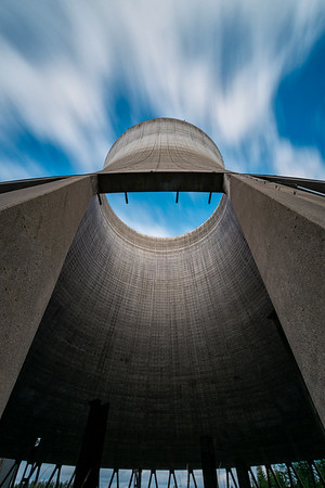 Decommissioned Cooling Tower