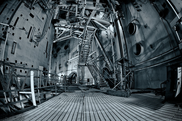Inside an Abandoned Nuclear Reactor Chamber