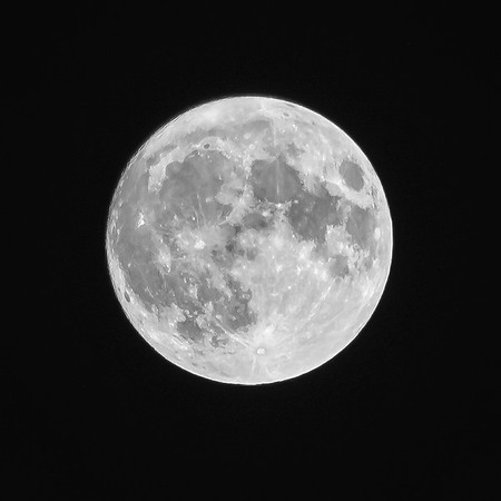 Lake Tishomingo Moon 0014, 11/13/2016