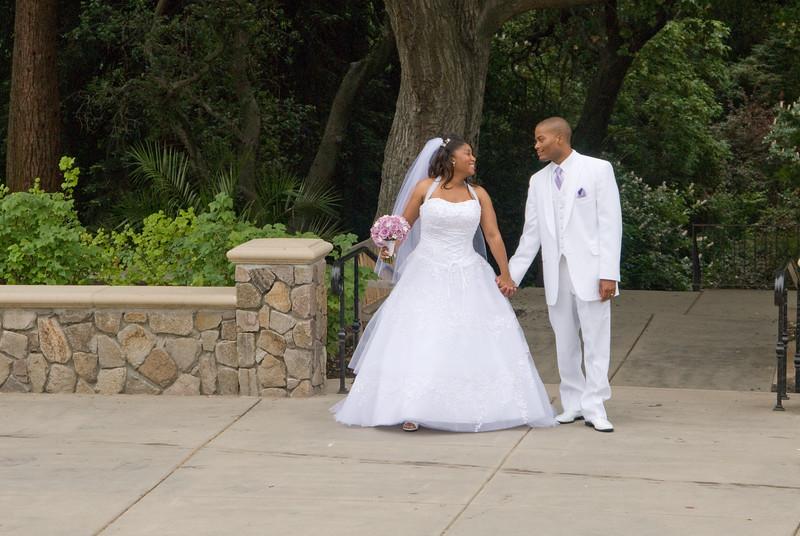 Denise Jordan - Marcus Edwards, wedding and reception, June 2, 2007, Oakland, CA