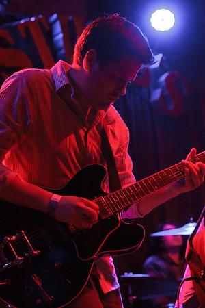 Matt Germeyer performing with The Warplanes at Stubbs in Austin, Texas.
