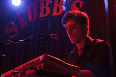 Luke Dalton performing with The Warplanes at Stubbs in Austin, Texas.