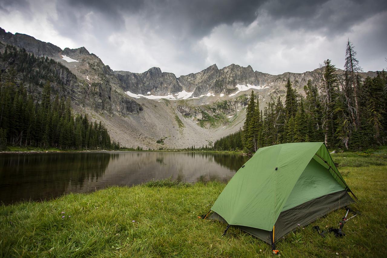 Crazy Mountain Campsite
