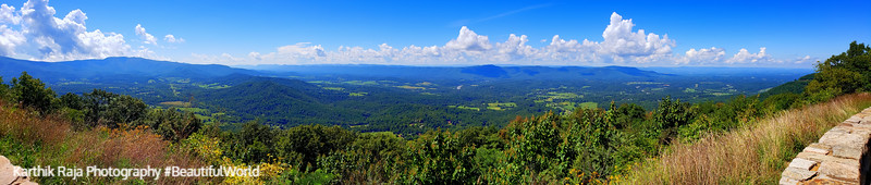 Hogback Overlook, Shenandoah National Park, Virginia