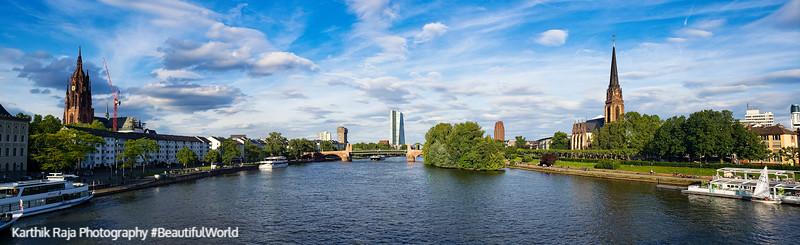 Main River, Frankfurt, Germany