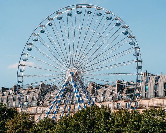 Paris wheel, 2016
