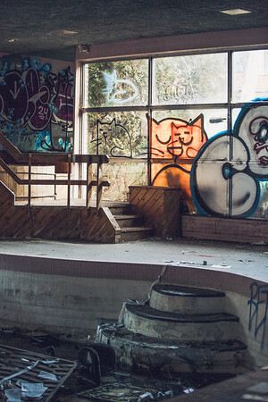 A collection from the Abandoned Penn Hills Resort by Felicia Mariah Photography