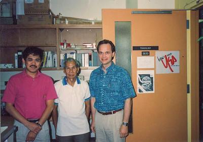 Tatay's visit ca 1990