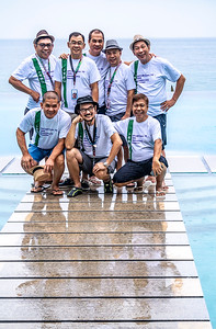 L_R, standing:  Jorge Allas, Billy Leysa, Tony Rayos, Efren Diaz; sitting:  Ed Lalas, Tony Luna, Cadz Mendoza