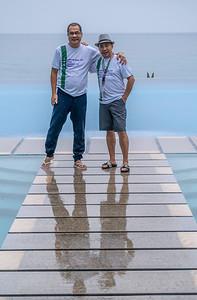 L-R:  Tony Rayos and Boyce Jubilan