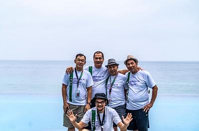 Standing L-R:  Billy Leysa, Tony Rayos, Boyce Jubilan, Efren Diaz; sitting: Tony Luna