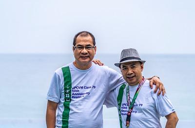 Tony Rayos and Boyce Jubilan