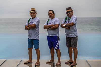 L-R:  Ed Lalas, Jing Masangkay, Jorge Allas