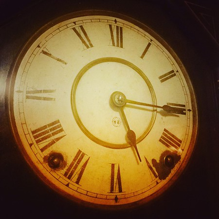 The time is...