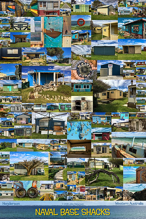 Naval Base Shacks Poster #5
