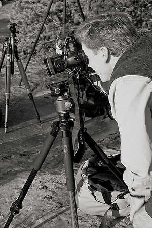 <i>Marc, shooting with his pimpin' gear.</i>