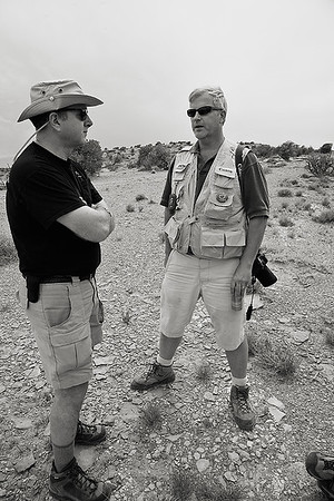 <i>Fred and Andy. San Rafael Swell, UT</i>
