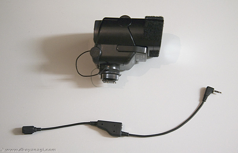 <b>If you're like me, you were probably very disappointed with the short extension cord that Sony supplies with the F32X flash. Here's how you can build a longer extension cord so you can use the flash off-camera.</b>