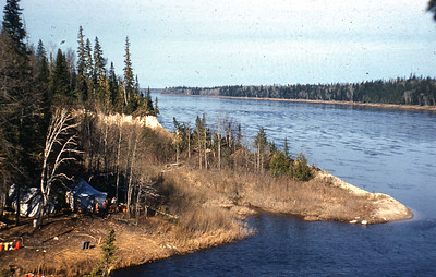 Camp on Mattagami R & Pike R.