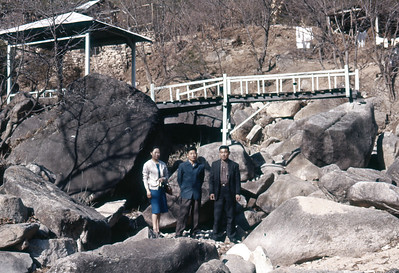 Riz Jhin, Kim, Chong at Ui-dong Mar. 1963