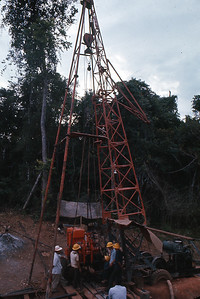 Well drilling, J&B test site