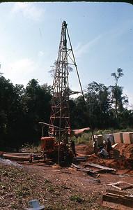 Well drilling, J&B test site