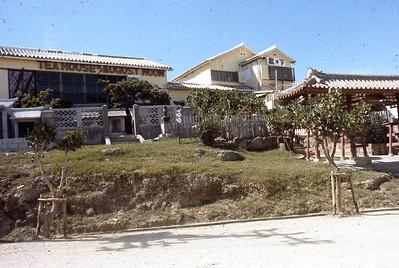 Tea house of Aug. Moon. Naminoue Dist. Naha Oki.