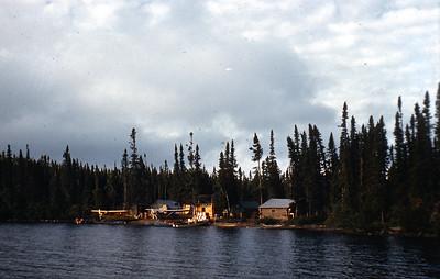 Severn's Fish Camp on N. Caribou Lake