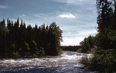 Rapids on Morris River