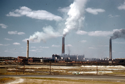 Inco Smelter, Copper Cliff Kodachrome