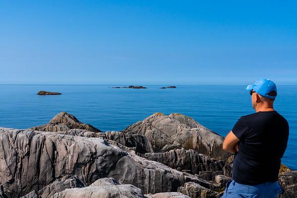 View from Utslåttøy