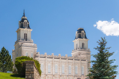 Manti - Church of Jesus Christ of Latter-day Saints temple