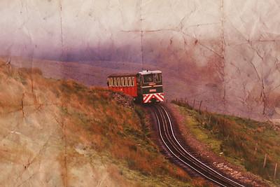 Snowdon Mt Railway Circa 1991