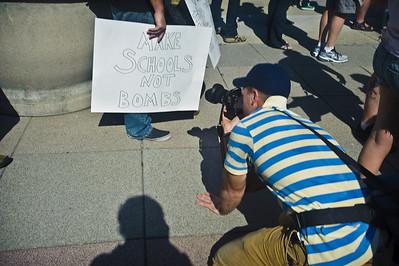 #occupychi (Occupy Chicago) and Anti-War Protest