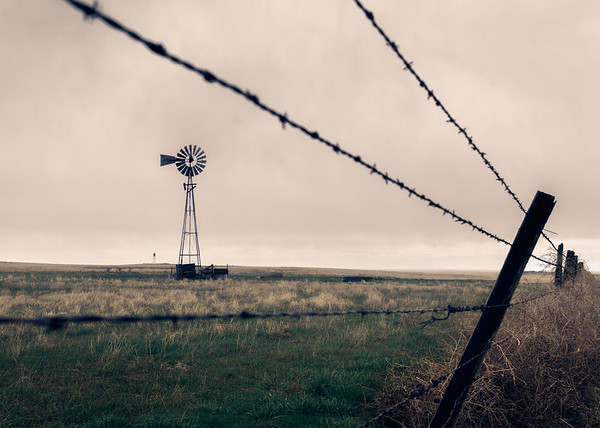 Lonely Windmill
